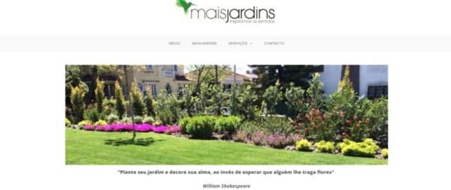 Mais jardins construção e manutenção de jardins